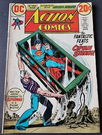 Action Comics (1938 DC) #421 VF