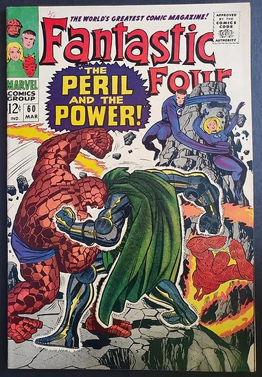 Fantastic Four 60 VF-