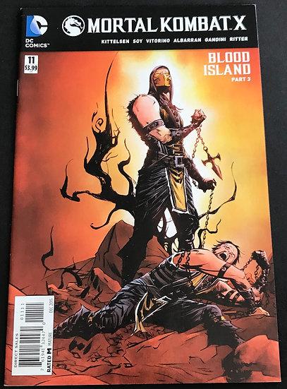 Mortal Kombat X (DC) #11 NM