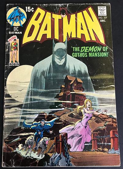 Batman 227 GD/VG