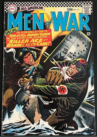 All American Men of War (1952) #115 VG-