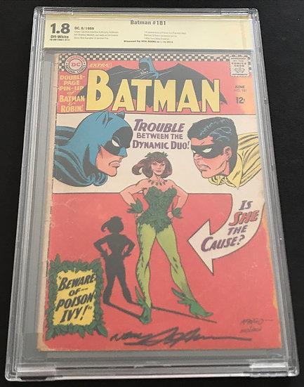 Batman (1940) #181 CBCS 1.8 Off White