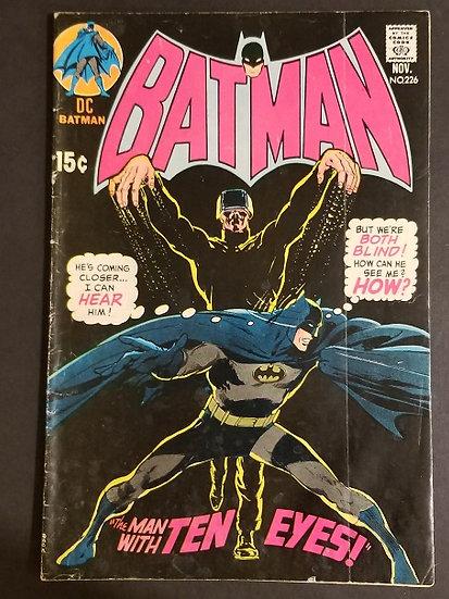 Batman (1940) #226 VG-