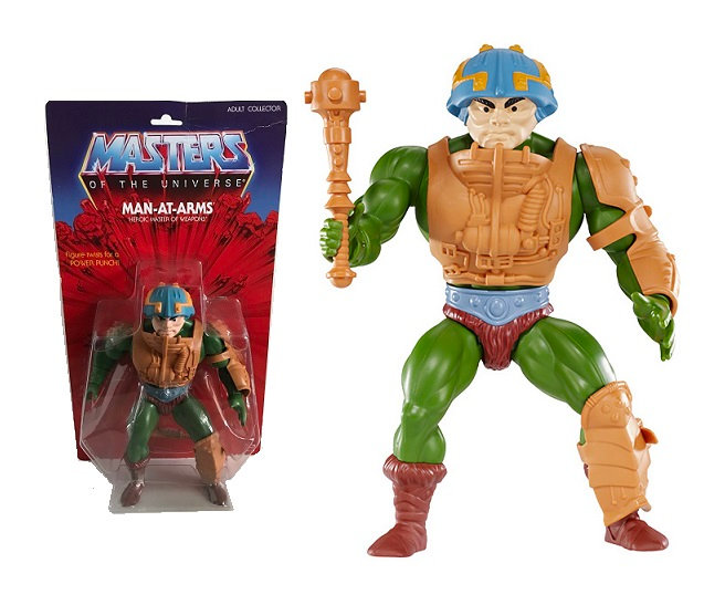 Masters Of The Universe Man At Arms Heroic Master Of Weapons Figure