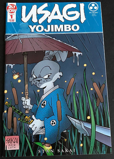 Usagi Yojimbo (4th Series IDW) #1 [2nd Printing]