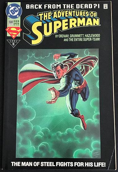 Adventures of Superman #500 FN-