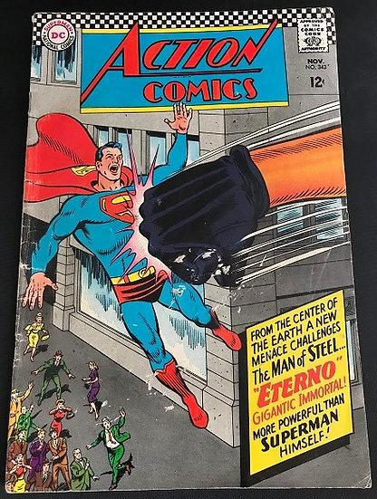 Action Comics #343 VG