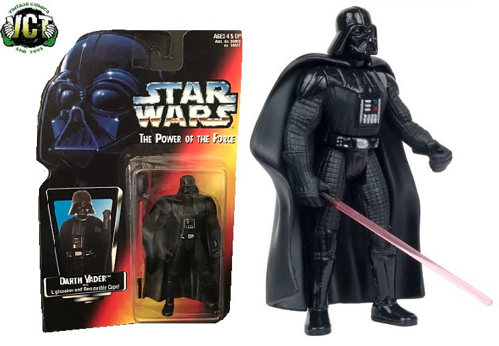 1995 Star Wars The Power Of The Force Darth Vader