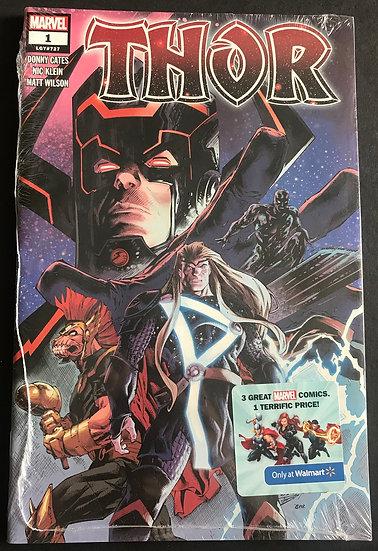 Thor (2020) #1 3-Pack Walmart Variant [Poly Bag]