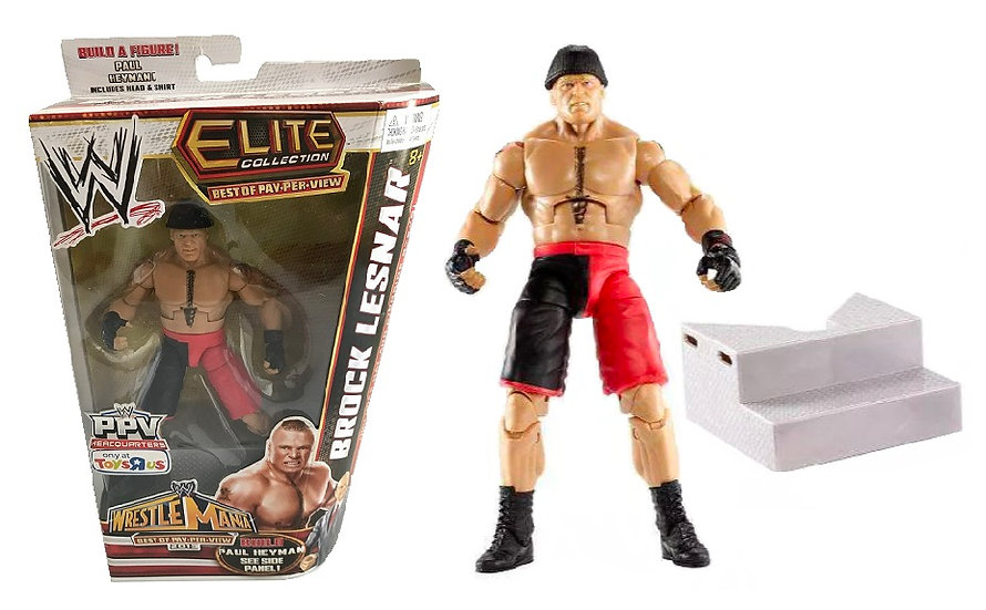 WWE Elite Collection Best Of Best of Pay Per View Brock Lesnar Figure[Toys R Us]