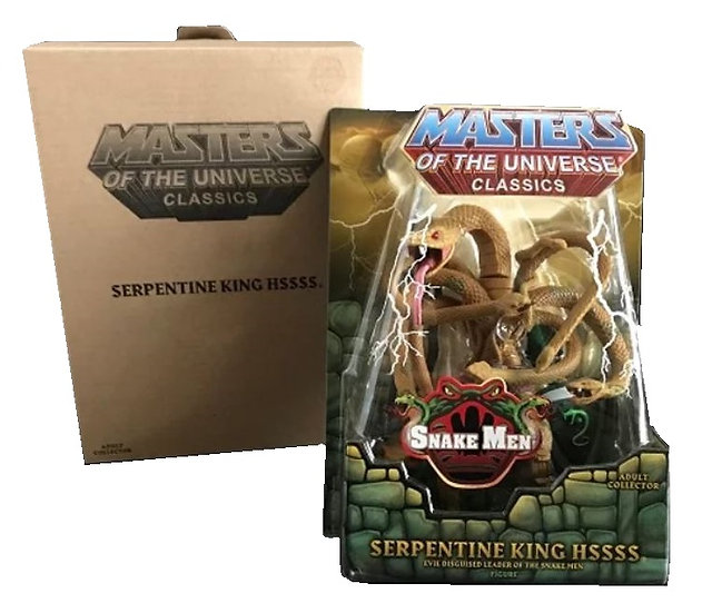 Masters Of The Universe Serpentine King Hssss Evil Disguised Leader Of The Snake