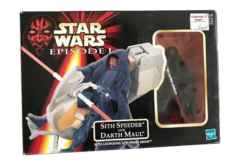 1998 Star Wars Episode l  Sith Speeder And Darth Maul