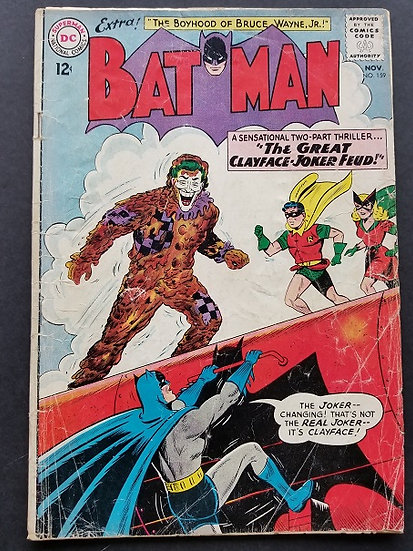 Batman (1940) #159 VG+