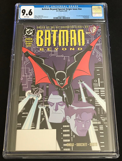Batman Beyond Special Origin Issue (1999) #1 CGC 9.6 White Pages