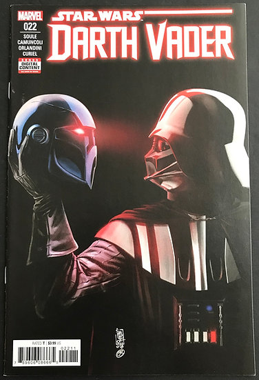 Star Wars Darth Vader (2017, 2nd Series) #22 VF/NM