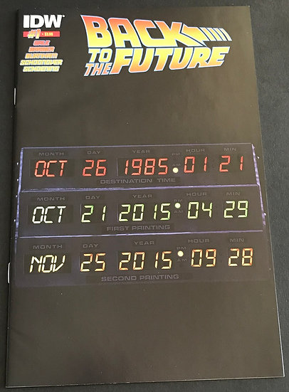 Back to the Future (2015 IDW) #1B NM