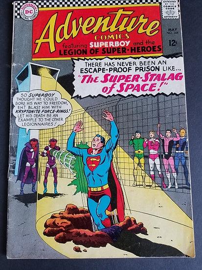 Adventure Comics 344 VG/FN