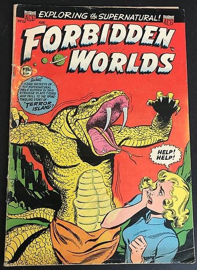 Forbidden Worlds (1952) #20 VG+