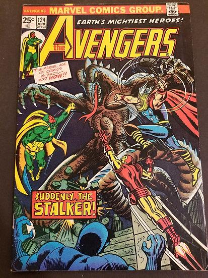 Avengers 124 FN/VF