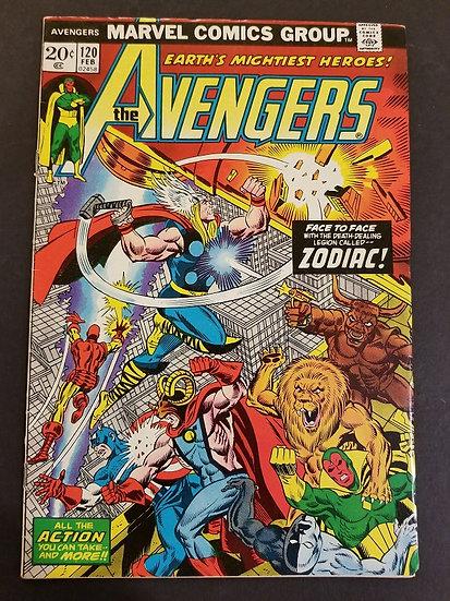 Avengers (Marvel ) #120 FN