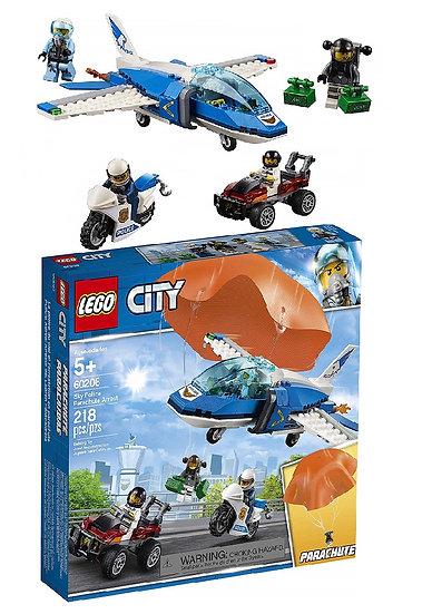 Lego City Building Toy Sky Police Parachute Arrest 60208