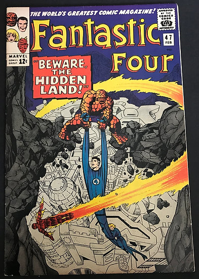 Fantastic Four (1961 1st Series) #47 VF+