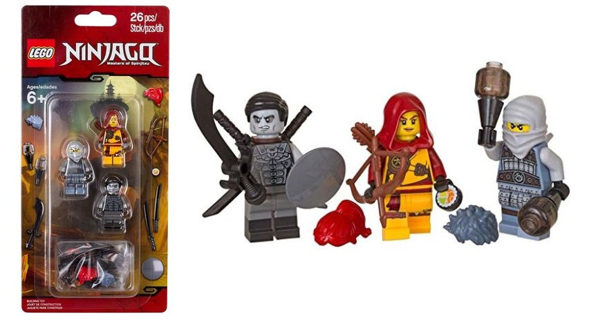 Lego Ninjango Masters of Spinjitzu Minifigure and Accessory Set 853687