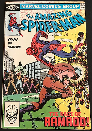 Amazing Spider-Man (Marvel) #221 VF-