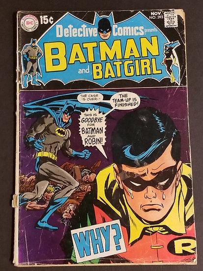 Detective Comics (1937 1st Series) #393 GD+