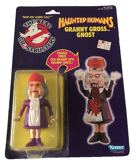 1986 The Real Ghost Busters Haunted Humans Granny Gross Ghost