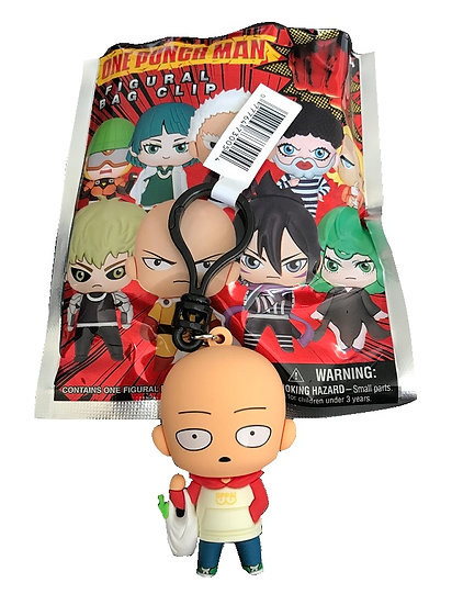 One Punch Man Exclusive A Saitama In Oppai Hoodie 3-D Figural Bag Clip
