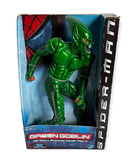 2001 Movie Spider-Man 12 Inch Green Goblin Poseable Action Figure