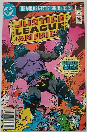Justice League of America (1960 1st Series) #185 NM-