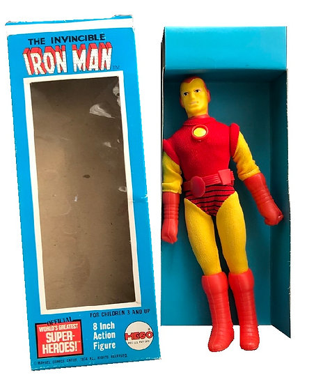 1974 Vintage The Invincible Iron Man 8 Inch Action Figure By Mego