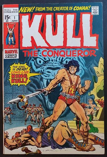 Kull The Conqueror 1 VF+