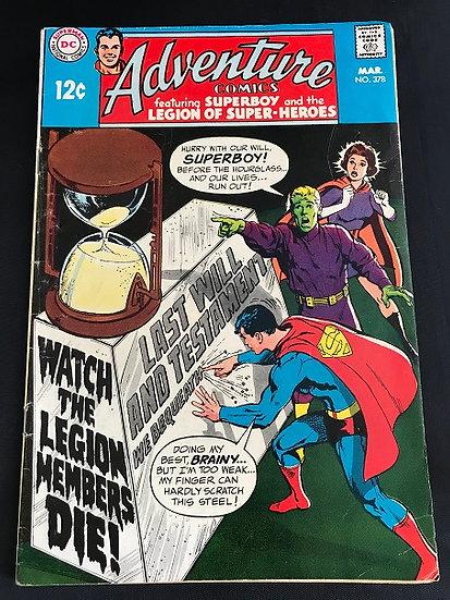 Adventure Comics 378 FN