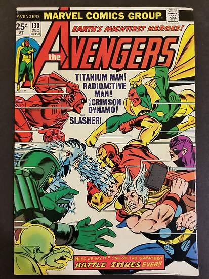 Avengers (1963 1st Series) #130 VF
