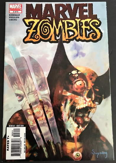 Marvel Zombies (2005) #3A