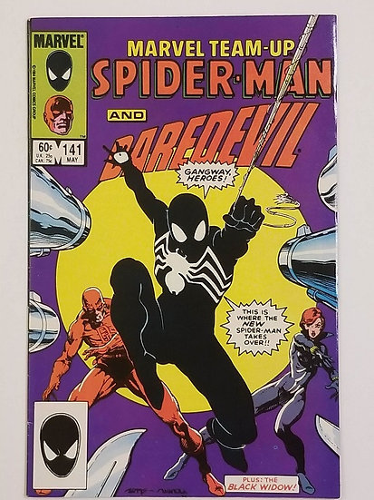 Marvel Team-Up (1972 1st Series) FN/VF[Tie for 1st Appearance of Black Symbiote]
