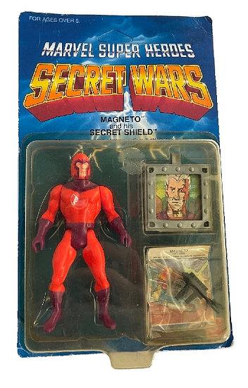1984 Marvel Super Heroes Secret Wars Magneto And His Secret Shield Figure
