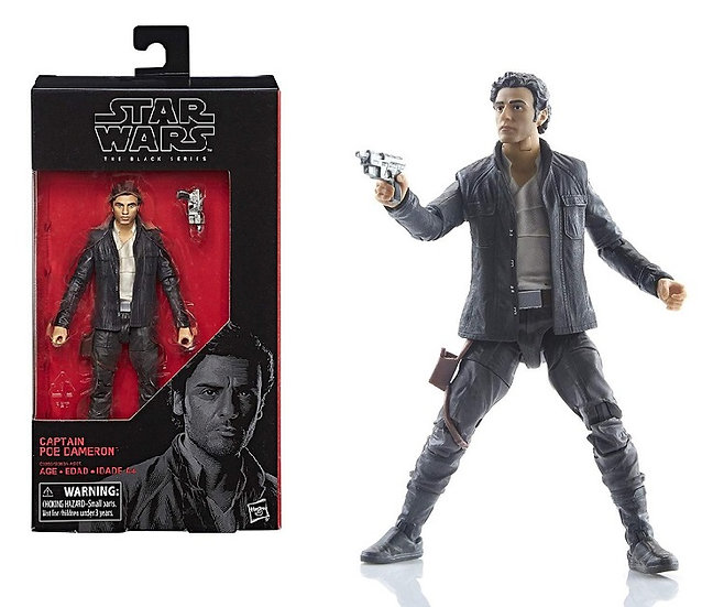 Star Wars The Black Series 53 Captain Poe Dameron Figure