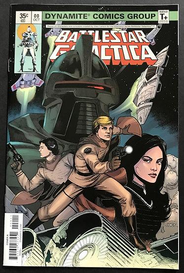 Battlestar Galactica Classic (Dynamite) #0 VF/NM [Cover A]