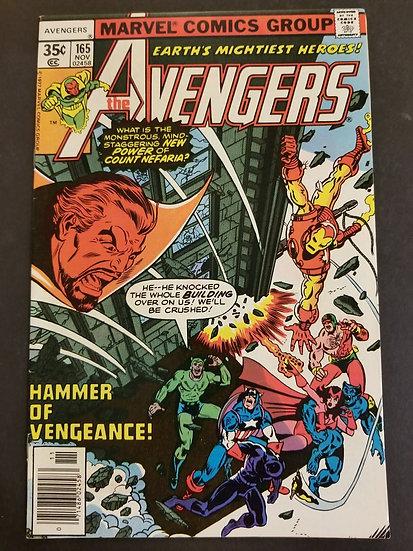 Avengers (1963 1st Series) #165 NM
