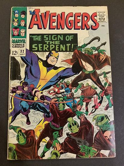 Avengers (Marvel ) #32 FN