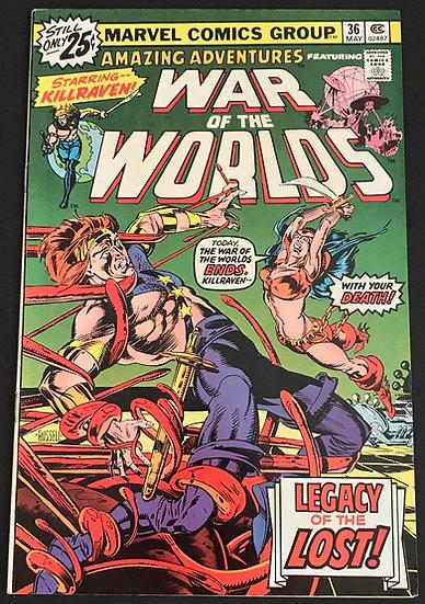 Amazing Adventures (Marvel) #36 NM-