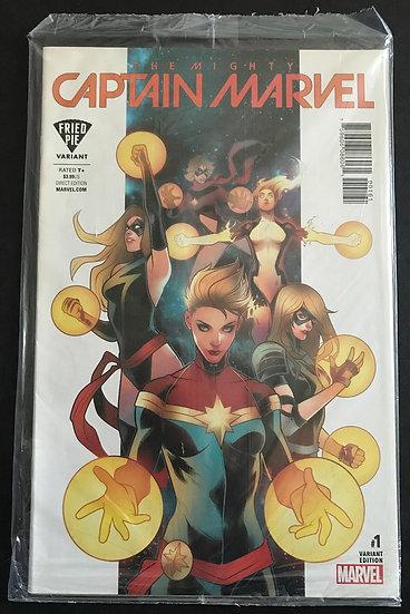 Mighty Captain Marvel (2016 MARVEL)#1 NM- [Fried Pie Variant]