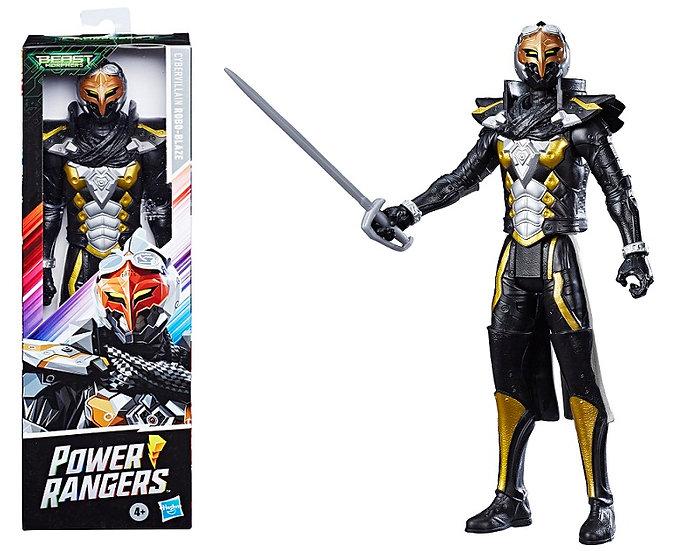 Power Rangers Beast Morphers 12 Inch Cybervillain Robo-Blaze Action Figure