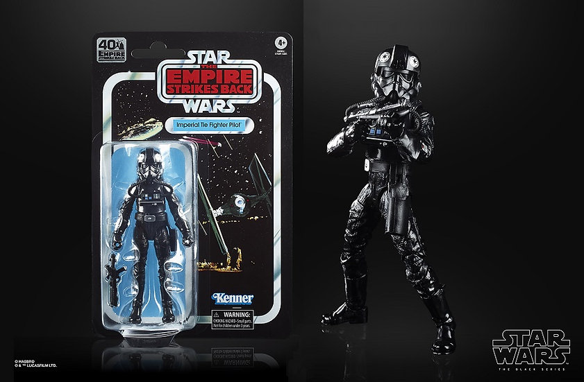 Star Wars The Black Series Imperial TIE Fighter Pilot Action Figure
