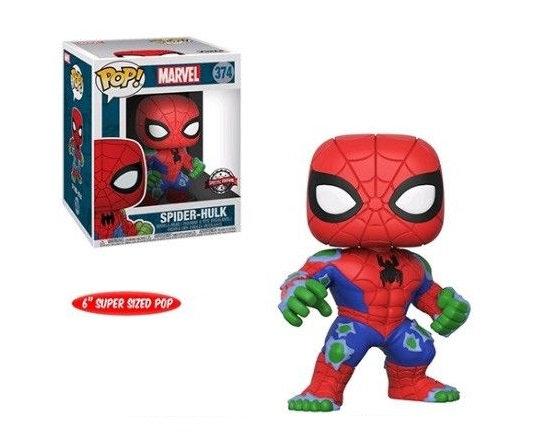 Funko Pop Marvel 6 inch Spider Hulk 374 Walgreens Exclusive