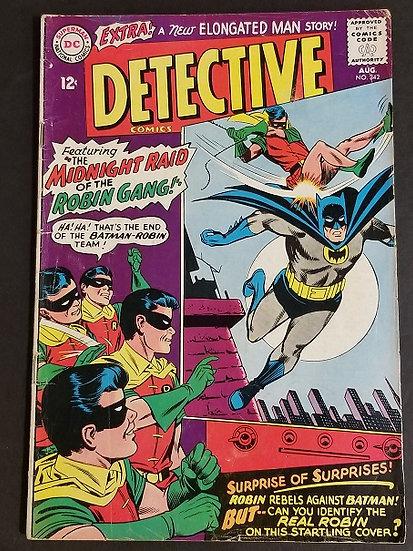 Detective Comics (1937 1st Series) #342 FN